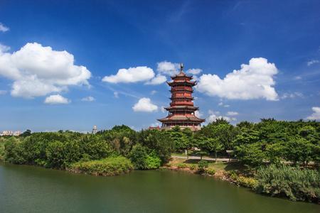 Foto de Xiamen Xinglin Garden Expo Pavilion - Imagen libre de derechos