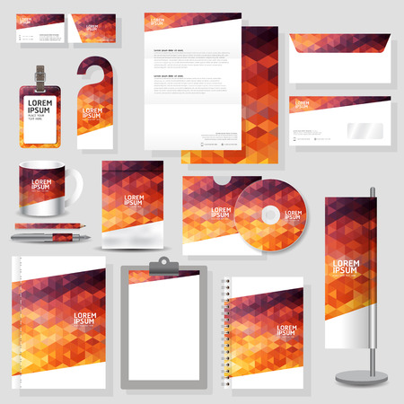 Foto de Technology corporate identity template Stationery design set in vector format - Imagen libre de derechos