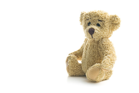 Photo pour teddy bear on white background - image libre de droit