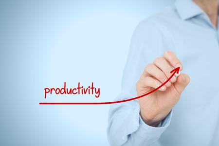 Foto de Manager (businessman, coach, leadership) plan to increase company productivity. - Imagen libre de derechos