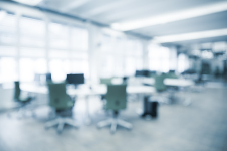 Photo pour Office background - blurred and defocused - ideal for business presentation background. - image libre de droit