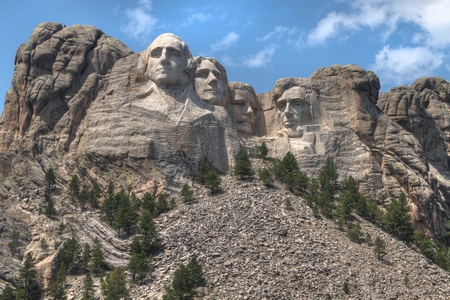 Photo pour Mt. Rushmore is a National Monument in the American State of South Dakota - image libre de droit