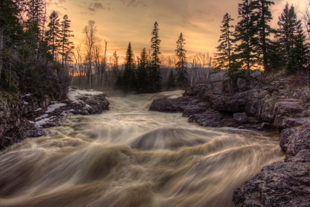 Photo for Temperance River is a State Park on the North Shore of Lake Superior in Minnesota - Royalty Free Image