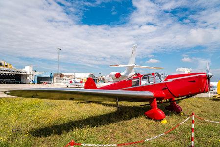 Photo pour British Eagle 2 aircraft during air show - image libre de droit
