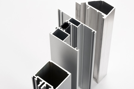 Foto de Aluminum profiles - Imagen libre de derechos