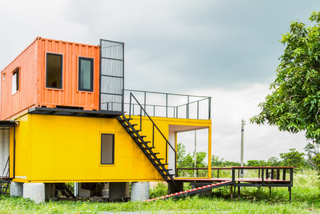 Foto de Beautiful Home Exterior for design background. - Imagen libre de derechos