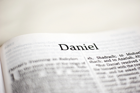 Foto de Daniel Bible text - Imagen libre de derechos