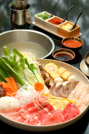 Photo for japanese hot pot - Royalty Free Image