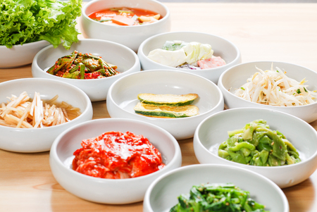 Photo for Korean side dishes - Royalty Free Image