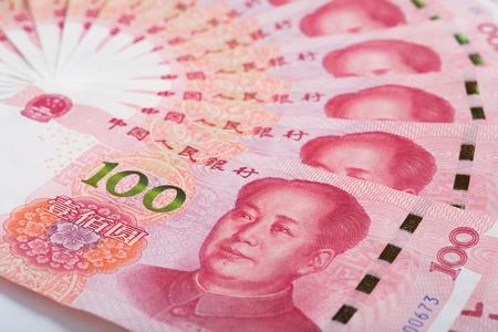 Photo pour 100 yuan banknote, Chinese yuan Currencies - image libre de droit