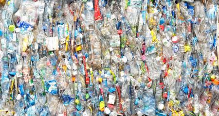 Foto de bottle pet plastic  prepare to recycle - Imagen libre de derechos