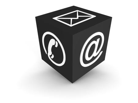 Photo pour Communication Channels - grey - image libre de droit
