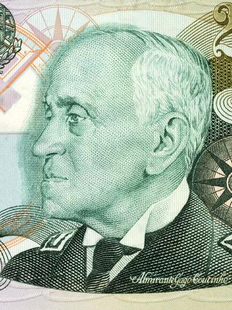 Foto de Carlos Viegas Gago Coutinho portrait from Portuguese money - Imagen libre de derechos