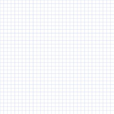 Illustration pour Seamless grid paper. Grid paper basic squares. Blue. - image libre de droit