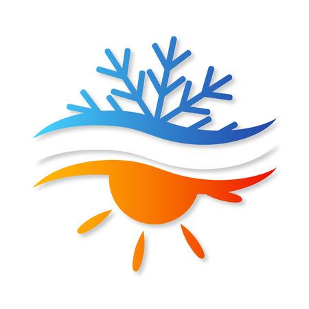 Illustration pour air conditioner for home - image libre de droit