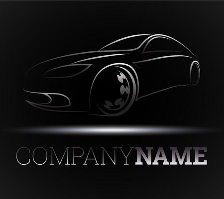 Ilustración de design for the auto business, vector - Imagen libre de derechos
