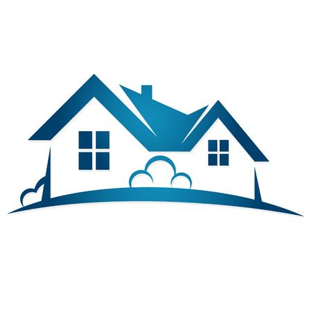 Ilustración de Real estate sale symbol vector - Imagen libre de derechos