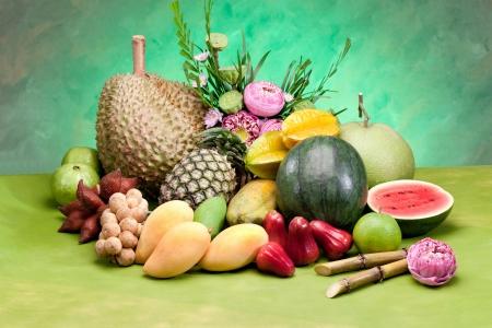 Thailand tropical all season fruits a taste of asia