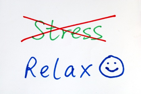 No more Stress, get some relax with a happy smile