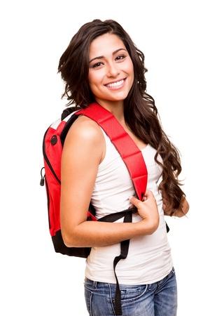 Foto de Young happy student - Imagen libre de derechos