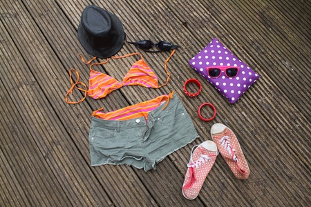 Photo for Beach wear outfit - Royalty Free Image