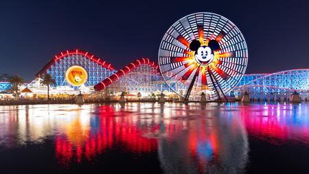 Photo for Pixar Pier - Royalty Free Image