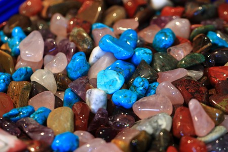 color gemstone texture as nice mineral background