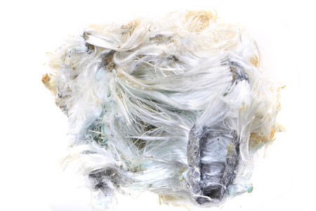 Photo for unknown asbestos mineral as nice mineral background - Royalty Free Image