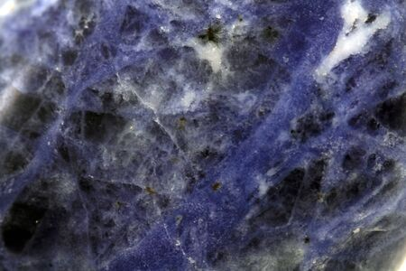 Foto de blue sodalite texture as very nice natural background - Imagen libre de derechos