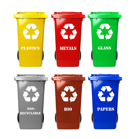 Photo for Recycle bins - Royalty Free Image