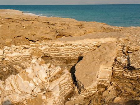 Dead sea landscape in Israel
