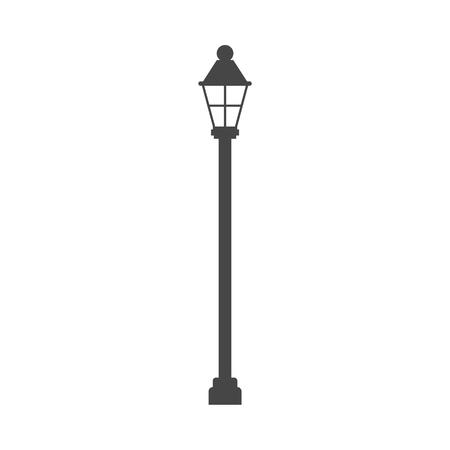 Illustration pour Street lamp icon - Illustration - image libre de droit