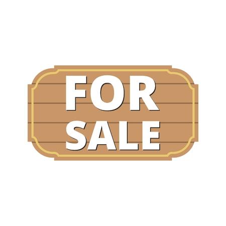 Illustration pour For Sale Icon, For sale sign - image libre de droit
