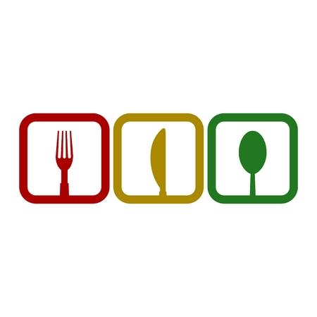 Illustration pour Restaurant icon - image libre de droit