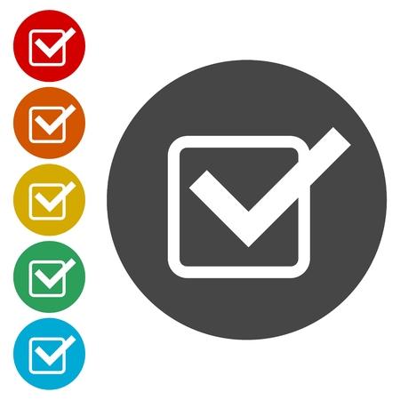 Illustration pour Vector checklist icon - image libre de droit
