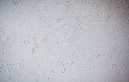 Photo for White stucco wall background. Cement wall texture - Royalty Free Image