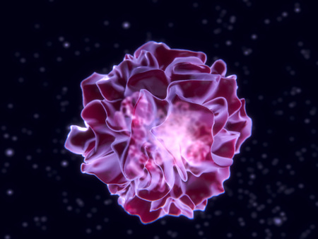 Foto de Dendritic cell.Dendritic cells are antigen-presenting cells of the immune system. - Imagen libre de derechos