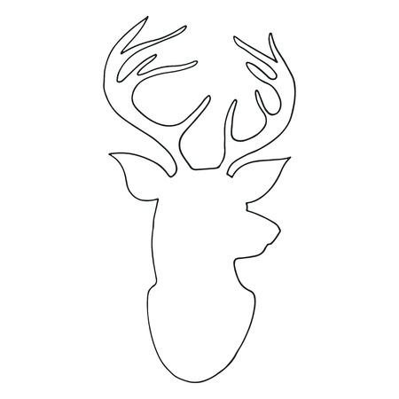 Ilustración de Reindeer - Imagen libre de derechos