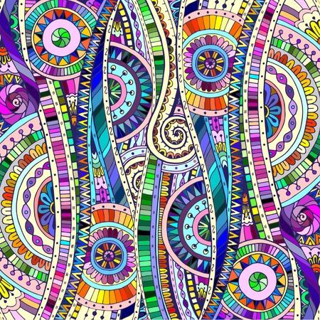Illustration for Background with geometric mosaic elements. - Royalty Free Image