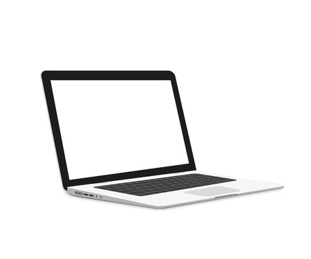 Illustration pour Isometric illustration of laptop isolated on white - image libre de droit