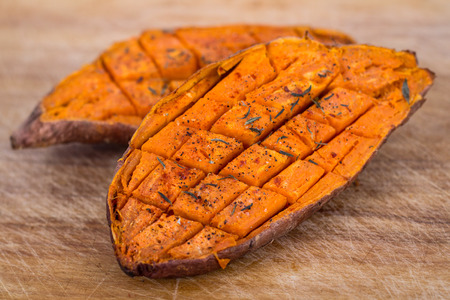 Photo for baked yam sweet potato - Royalty Free Image