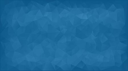 Ilustración de vector illustration - blue abstract mosaic triangle background - Imagen libre de derechos