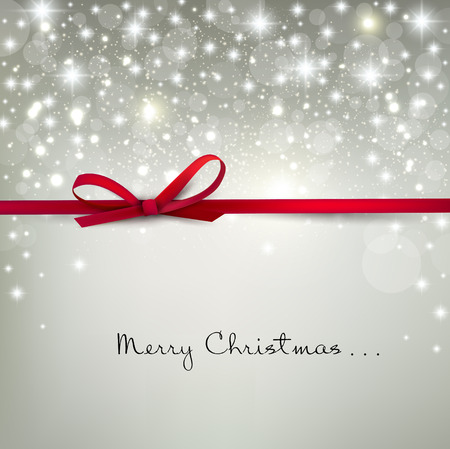Illustration pour Elegant Christmas background with snowflakes and place for text. Vector Illustration. - image libre de droit