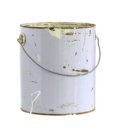 Photo pour Paint can (with clipping path) isolated on white background - image libre de droit