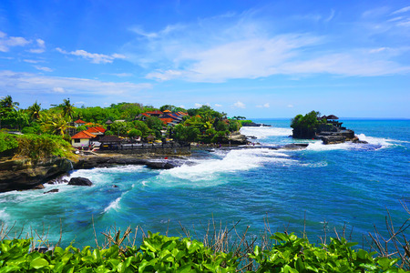 Photo for Tanah Lot temple, Bali island, Indonesia - Royalty Free Image
