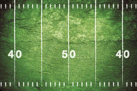 Grunge football field background.