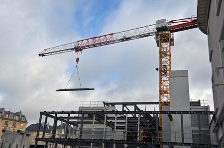 Foto de construction site of a building - Imagen libre de derechos