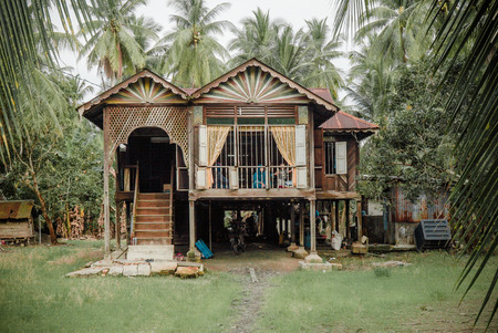 Photo for Malaysian Village House - Royalty Free Image