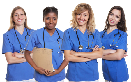 Photo for Group of four nurses - Royalty Free Image