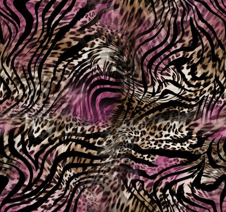 Foto de leopard zebra skin background - Imagen libre de derechos